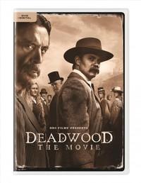 Deadwood: the Movie (Region 1 DVD) - Cover