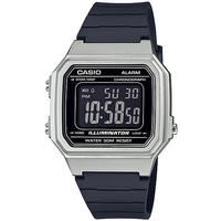 Casio Standard Collection Digital Wrist Watch - Silver and Black