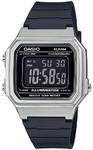 Casio Standard Collection Digital Wrist Watch - Silver and Black