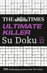 Times Ultimate Killer Su Doku Book 12 - The Times Mind Games (Paperback)