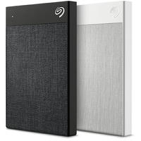 Seagate Backup Plus 1TB Ultra Touch White External Hard Drive - USB3.0 with Type-C Converter