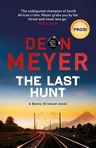 The Last Hunt - Deon Meyer (Trade Paperback) - Cover