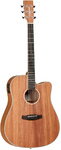 Tanglewood TWUDCE Union Series Dreadnaught Acoustic Guitar With Pickup (Including Hard Case)