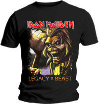 Iron Maiden - Legacy Killers Men's T-Shirt - Black (XX-Large) - Cover