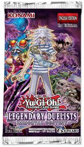 Yu-Gi-Oh! - Legendary Duelists: Immortal Destiny Single Booster (Trading Card Game) - Cover