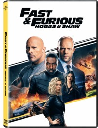 Fast and Furious Presents: Hobbs and Shaw (DVD) - Cover