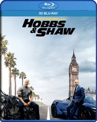 Fast and Furious Presents: Hobbs and Shaw (3D Blu-ray) - Cover