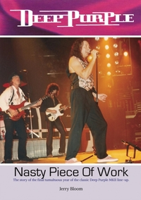 Deep Purple a Nasty Piece of Work - Jerry Bloom (Paperback) - Cover