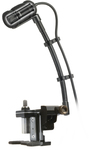Audio Technica ATM350D Cardioid Condenser Instrument Microphone with Drum Mount System (Black)