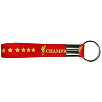 Liverpool - Champions of Europe Silicone Keyring - Cover