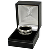 Liverpool - Black Inlay Ring (Large)