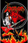Venom - Cronos In Flames Textile Posters