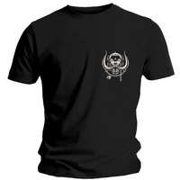 Motorhead Pocket Logo Men's Black T-Shirt (Medium) - Cover