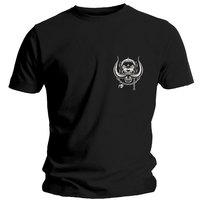 Motorhead Pocket Logo Men's Black T-Shirt (X-Large) - Cover