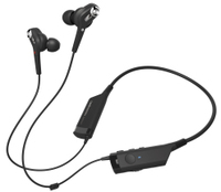 Audio Technica ATH-ANC40BT In-Ear Neckband Wireless Noise-Cancelling Headphones (Black) - Cover