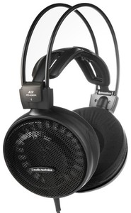 Audio Technica ATH-AD500X High-Fidelity Open-Back On-Ear Headphones (Black) - Cover