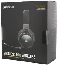 Corsair Virtuoso RGB Wireless Dolby 7.1 Gaming Headset - Black (PC, PS4, Xbox One, Switch)