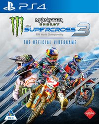 Monster Energy Supercross 3: The Official Videogame (PS4)