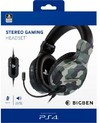 Bigben Interactive - Stereo Gaming Headset - Camo Green (PS4)