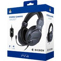 Bigben Interactive - Stereo Gaming Headset - Titanium (PS4)