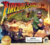 Fireball Island: The Curse of Vul-Kar - Spider Springs Expansion (Board Game) - Cover