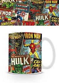 Marvel Retro - Covers Mug - Cover
