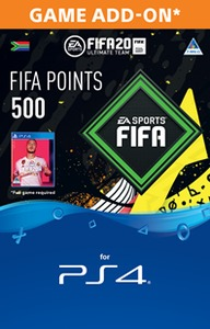 FIFA 20 Ultimate Team Digital - 500 Points (PS4 Download) - Cover