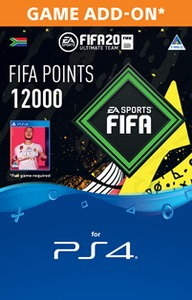 FIFA 20 Ultimate Team Digital - 12000 Points (PS4 Download) - Cover
