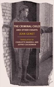 Criminal Child - Jean Genet (Paperback) - Cover