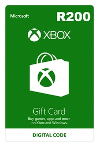 Xbox Live R200 Gift Card (Xbox One/Xbox 360/Win 10) - Cover