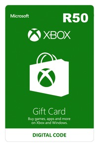 Xbox Live R50 Gift Card (Xbox One/Xbox 360/Win 10) - Cover