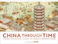China Through Time - Dk (Hardcover) - Cover