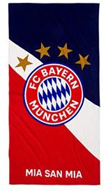 Bayern Munich - Crest Beach Towel - Cover