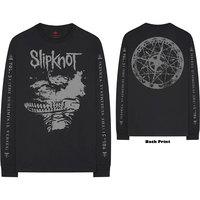 Slipknot - Subliminal Verses Men's Black Long Sleeve T-Shirt (Large) - Cover