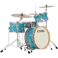 Tama CR30VS-TSH Superstar Classic NEO-MOD 3pc Shells Only Acoustic Drum Kit - Turquoise Satin Haze (12 14 20 Inch)