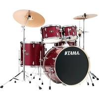 Tama IE62H6W-CPM Imperialstar 6pc Acoustc Drum Kit with Hardware - Candy Apple Mist (14 10 12 14 16 22 Inch)