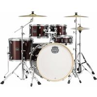 Mapex Storm Series 5pc Rock Acoustic Drum Kit with Hardware - Burgandy (10 12 14 16 22 Inch)