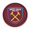 West Ham United F.C. - Silicone Coaster (Single)