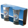 Manchester City - Shot Glasses (Set of 2)