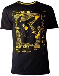 Pokémon - Pikachu Profile Men's T-Shirt (Large) - Cover