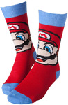 Super Mario - Mario Socks - Red/Blue (39/42)