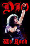 Dio - We Rock Textile Poster