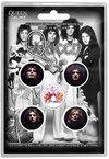 Queen - Faces Button Badge