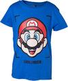 Nintendo - Super Mario Face Boy's T-Shirt (Size - 122/128)
