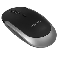 Macally Bluetooth Optical Mouse - Black and Space Gray - Cover