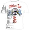 Motley Crue - Vintage Spark Plug GGG Men's T-Shirt - White (X-Large)