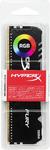 Kingston HyperX Fury 16GB DR4 2666MHz CL16 RGB Gaming Memory Module - Black
