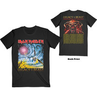 Iron Maiden - The Flight of Icarus Men's T-Shirt - Black (Large) - Cover