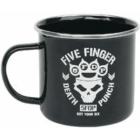Five Finger Death Punch - Got Your Six Enamel Mug