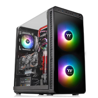 Thermaltake - View 37 ARGB Edition Mid-Tower Computer Case